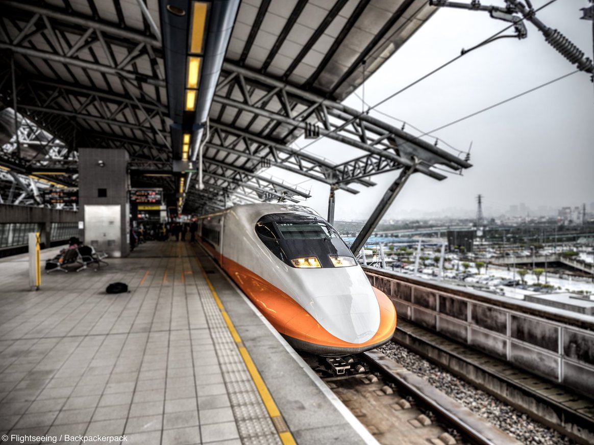 High Speed Train Taipeh