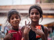 Kinder in Indien