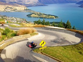 Kartbahn in Queenstown