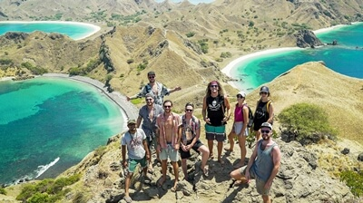 Insel Hopping Trip Indonesien